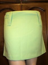 Gorgeous green skirt by Avenue, large belt loops, available in sizes M & L