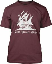 The Pirate Bay (White) Fine Jersey T-Shirt