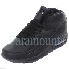 Hype Mid Hi Air Max 90 Black Running Trainers Mens  Mens Size