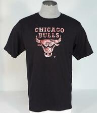 Adidas Signature Black Chicago Bulls Graphic Short Sleeve Tee T Shirt Mens NWT