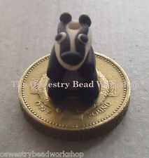 Handcrafted Badger Beads / Charms From £1.99 - The Oswestry Bead Workshop