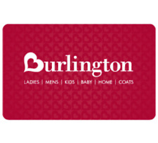 Burlington Coat Factory Gift Card - $25 $50 $100 - Email delivery