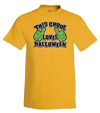 This Ghoul Loves Halloween T-Shirt,ghosts,halloween,tee,funny