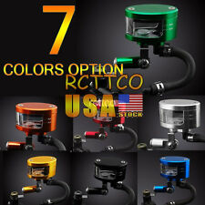 Fit For Kawasaki 10R 12R US Ship 7 Color Brake Reservoir Oil Fluid Cup Universal