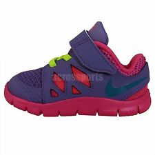 22f98ba05c73 Nike Free 5 TDV Purple Pink 2014 Toddler Baby Running Shoes Run