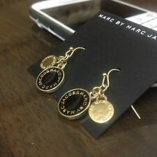 2014 New  Marc by M Jacobs Letters diamond disc Earrings 12color  #E004-X