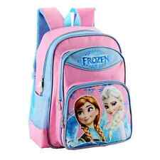 Frozen Elsa Anna Printed Ctue Canvas Backpack School Bag Girl Christmas Gift