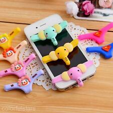 3D Elephant Knickers Underwear Design Soft Home Button Cover For iPhone 5S 4S 3G