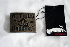 Atticus - Marylebone Belt Buckle, blink 182, emo, punk, Atticus, new, dead bird