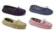Mokkers AMANDA Ladies Womens Soft Comfy Flexible Suede Moccasin Slippers New