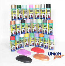 Aerosol Spray Paint - Rubber - Vinyl in a Can - Easy to Remove - Over 30 Colours