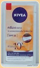 NIVEA WHITENING DAY CREAM 8 ML.WITH SPF 15 FOR MAKE-UP SKIN &REDUCE DARK SPOTS