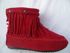 NEW RED TODDLER GIRLS BOOTS SHOES SIZE: 5