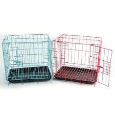 Animal Play Pen Dog Folding Steel Crate Wire Metal Cage Pet Kennel Multi-code