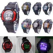 Fashion Hot Exercise Men Waterproof 30 M LCD Resistant Stopwatch Wristwatch Gift