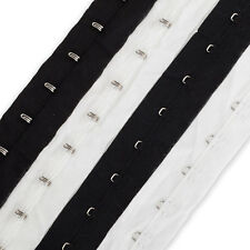 Neotrims Hook And Eye Tape Trim,100% Soft Cotton Fabric,NonRust,Corset Costume