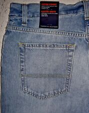 TOMMY HILFIGER Men's Custom Straight Jeans