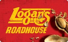 Logan's Roadhouse Gift Card - $25 $50 $100 - Email delivery