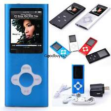 "16 GB Slim Mp3 Mp4 Player With 1.8"" LCD Screen, FM Radio,Video,Games&Movie GDY7"