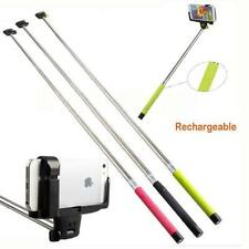Extendable Handheld Wireless Bluetooth Selfie Monopod Stick For iPhone Sony BLS