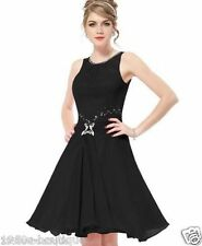 Women Short Evening Cocktail Party Prom Dress Gown Size 10 12 14 16 18 UK SELLER