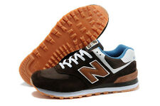 Mens New Balance 574 Classic Running Sneakers New, Brown ML574CAB