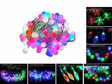 5M LED String Fairy Light Lamp Bulb Christmas Outdoor Garden Party Decoration