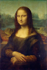 TIME4ART LEONARDO DA VINCI MONA LISA Gioconda GICLEE ART Decor WALL ALL SIZES