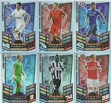MATCH ATTAX 12/13 100 HUNDRED CLUB CARDS PICK THE ONES YOU NEED VAN PERSIE BALE