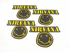 NIRVANA STICKER DECALS