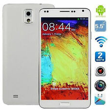 "5.5"" Unlocked Android Smartphone 2Core 2SIM WiFi AT&T T-Mobile Straight Talk MI"