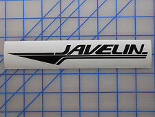"Javelin Boats Sticker Decal 7.5"" 11"" 17"" 23"" Bass Fishing OMC Stratos Ranger"