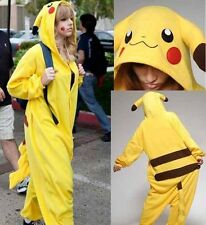 Anime Onesie Pikachu Pokemon Onesies Cosplay Costume Kigurumi Pajamas Onsie HOT