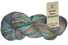 Bamboo Bloom Handpaints 48% Rayon from Bamboo, 44% Wool, 8% Acrylic per ball