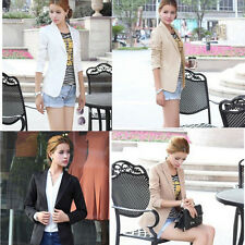 New 2014 New Fashion Women Slim Blazer Coat Casual Jackets V-Neck Suit Outerwear