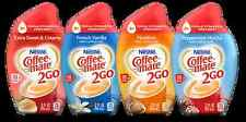 """NESTLE COFFEE-MATE Concentrate """" to  go """"  TRIPLE STRENGTH CREAMER 3 oz"""