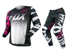 Fox Mx 2015 180 Black/Pink Ladies Girls MTB Motocross Dirt Bike Womens Gear Set