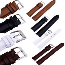 Mixed Colors Genuine Leather Watch Band Strap Bands 12/14/16/18/20/22/24 mm