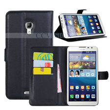 For Huawei Ascend Mate 2 Arrival Luxury Litchi Lines Best PU Leather Wallet Case