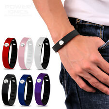 Power Ionics 3000ions Sports Health Titanium Wristband Bracelet 15 Colors U pick