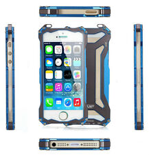 Armor Aluminum Metal Case Bumper Frame Transformers for iPhone6 Plus iPhone5 s
