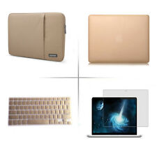 Hard case sleeve bag keyboard cover screen protecter for Apple macbook Air Pro