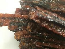 Homemade Bacon Jerky 8oz portions ( 6 differant flavors)