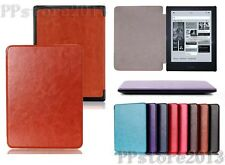 Stylish UltraThin PU Leather Smart Cover Case For New KOBO Aura H2O Ebook Reader