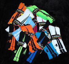 1 Under Armour black white blue pink green Elite Ignite Crew socks Men's M L XL