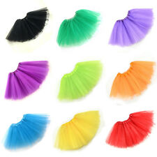 Adults Women Big Girl's 3 Layers Petti Tutu Ballet Party Fairy Skirt Dressing Up