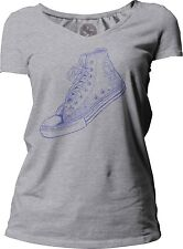 Big Texas BT All Star (Blue) Women's Short-Sleeve V-Neck T-Shirt