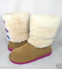 NEW KIDS GIRLS WOMEN UGG AUSTRALIA MALENA BOOT CHESTNUT 1005397K ORIGINAL