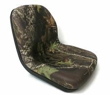 New Camo HIGH BACK SEAT for Woods ZTR Zero Turn Lawn Mower Rider Made in USA