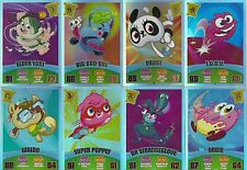 MOSHI MONSTERS SERIES 3 CODE BREAKERS RAINBOW FOIL CARDS CHOOSE WHAT YOU NEED